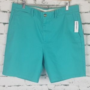NWT Old Navy Men's Ultimat Slim Shorts 36 Tall